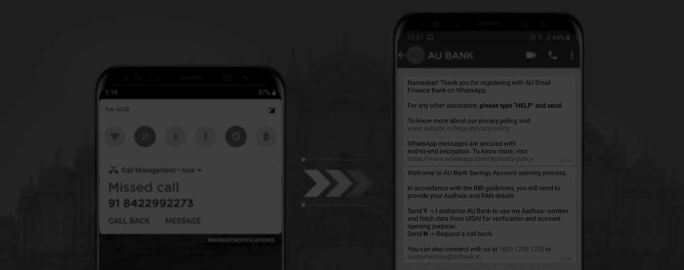 Au Bank Launches Account Opening On Whatsapp