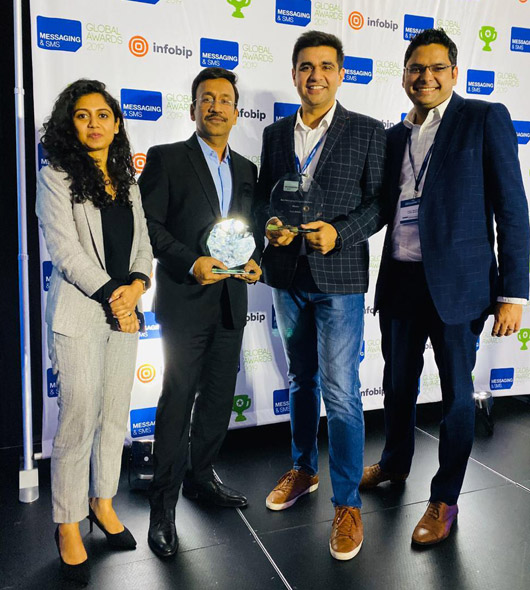 Karix Wins Two Awards At Sms World 2019