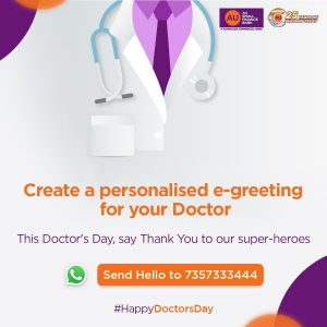 Au Bank Whatsapp Campaign Doctors Day