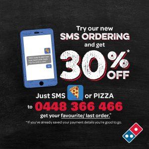 Dominos Sms Marketing Example