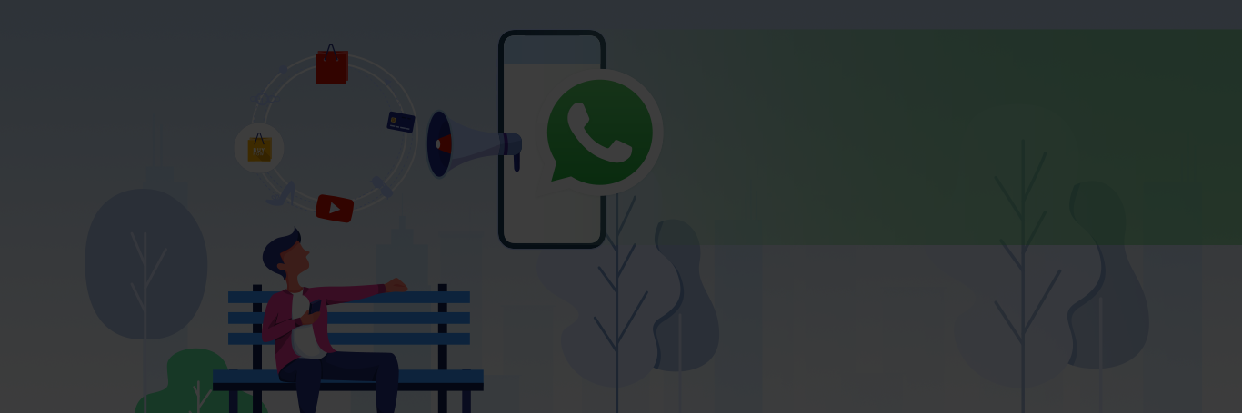 Engage Customers Whatsapp Business Desktop Banner